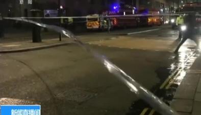 倫敦市中心出現天然氣泄漏致上千人被疏散