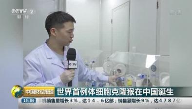 世界首例體細胞克隆猴在中國誕生