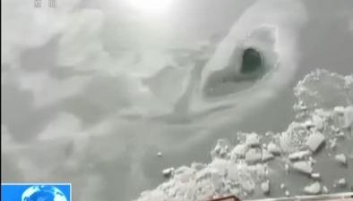 遼寧灣超四成海面遭遇冰封