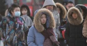 中央氣象臺:今晨繼續發布寒潮藍色預警