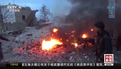 俄軍一架蘇-25戰機在敘利亞被擊落 飛行員喪生