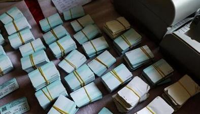 鐵警突襲制假窩點 收繳大量假票北京:查獲假票百余 票面價值24萬多元