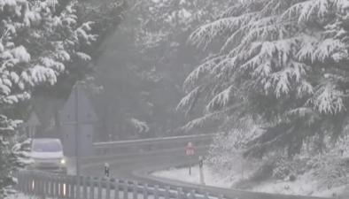 西班牙:多地降雪 18條道路被封