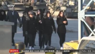 朝鮮藝術團抵達韓國