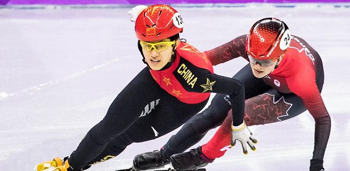 平昌冬奧會:短道速滑女子1500米中國17歲小將李靳宇奪得銀牌
