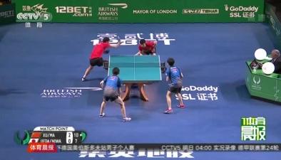 中國乒乓球隊再奪世界杯男女團體冠軍