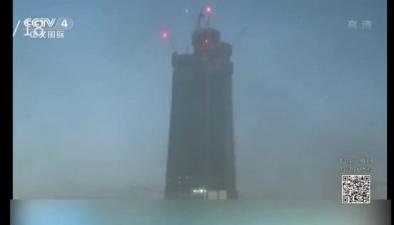 延時攝影記錄未來世界最高塔建造過程