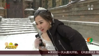 雪落龍江 美不勝收