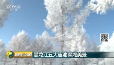 黑龍江五大連池霧凇美景