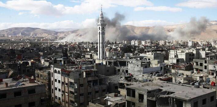 敘利亞軍方包圍東古塔重要平民聚居區