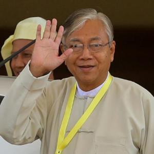 [新華簡訊]緬甸總統吳廷覺辭職