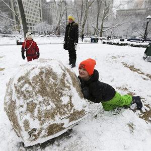 [國際早報]紐約再次遭遇暴風雪天氣
