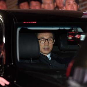 韓國法院批捕前總統李明博