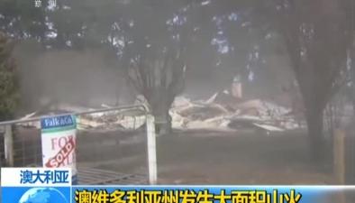 澳大利亞:澳維多利亞州發生大面積山火