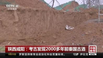 陜西鹹陽:考古發現2000多年前秦國古酒