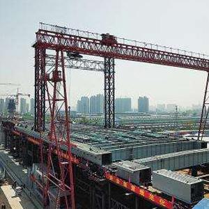 郑北大桥启动顶推施工 创多个国内之最