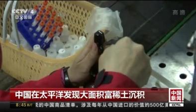 中國在太平洋發現大面積富稀土沉積