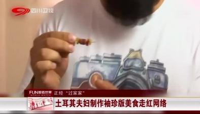 """正經""""過家家"""":土耳其夫婦制作袖珍版美食走紅網絡"""