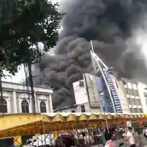 廣東一KTV發生火災 已致18死5傷 初步調查係人為縱火