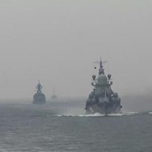 [新華簡訊]俄羅斯波羅的海艦隊在北大西洋舉行軍演