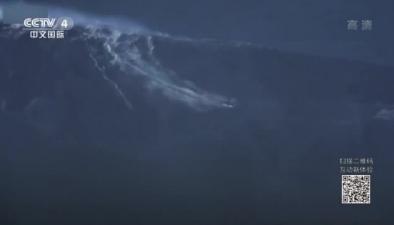 藝高人膽大 巴西衝浪高手徵服24.38米巨浪