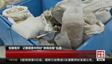 """安徽亳州:記者調查中藥材""""摻假賣假""""亂象"""