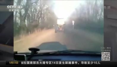 狹路相逢 拖拉機當賽車開?