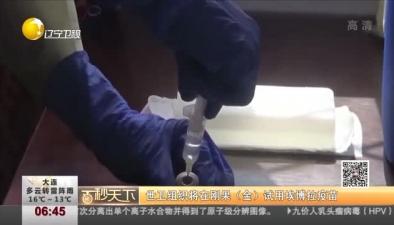 世衛組織將在剛果(金)試用埃博拉疫苗