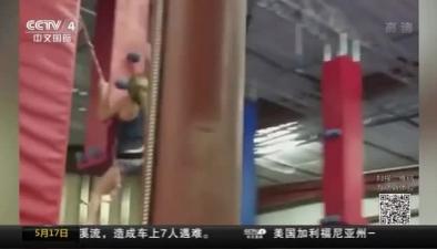 美國:飛檐走壁 10歲女孩成跑酷高手