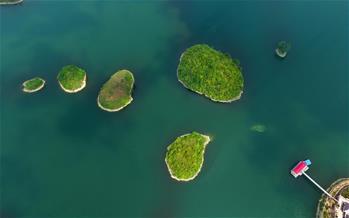 貴陽:阿哈湖美景入畫來