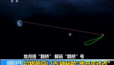 """地月搭""""鵲橋"""" 解碼""""鵲橋""""號:拉格朗日L2點 神秘的""""地月平動點"""""""