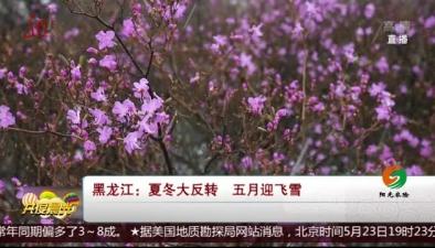 黑龍江:夏冬大反轉 五月迎飛雪