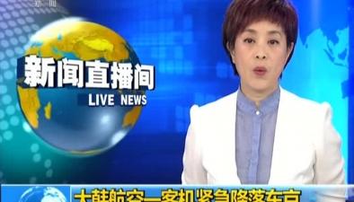 大韓航空一客機緊急降落東京