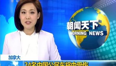 加拿大:24名中國公民車禍中受傷