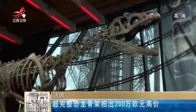 法國:超完整恐龍骨架拍出200萬歐元高價
