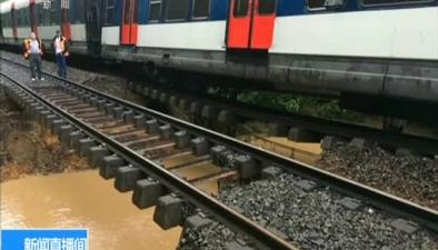 法國:洪水致列車脫軌 7人受傷