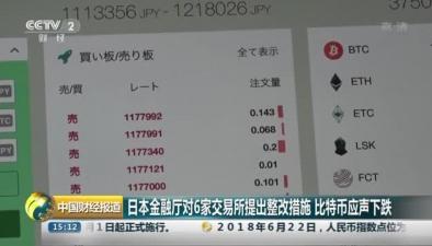 日本金融廳對6家交易所提出整改措施 比特幣應聲下跌
