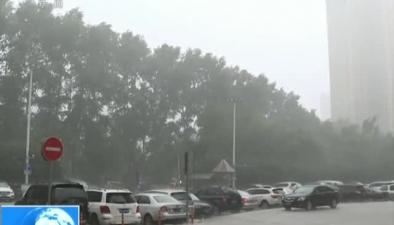 哈爾濱:強對流天氣致部分路段積水