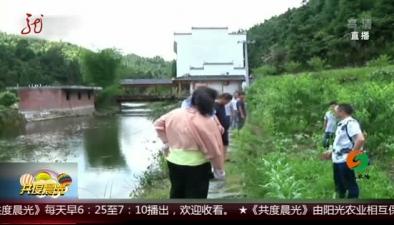江西:小熊掉入水中 警民齊救護