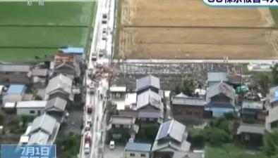 日本:滋賀縣遭遇龍卷風 民宅屋頂被掀