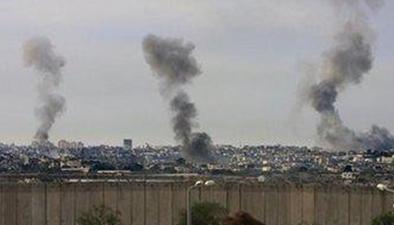 加沙地帶:以軍空襲造成2死10傷