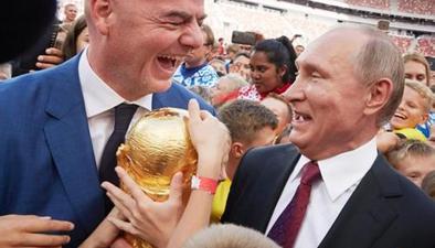 """2018俄羅斯世界杯:普京借決賽契機展開""""足球外交"""""""