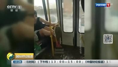 """俄多地暴雨如注 街道變""""泳道"""""""