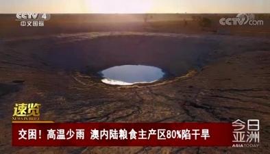 交困!高溫少雨 澳內陸糧食主産區80%陷幹旱