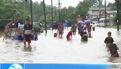 緬甸洪災已造成12人死亡