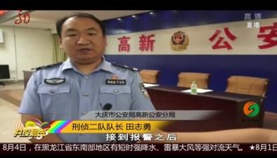 大慶:倆男子盜竊別墅 意外發現滿地是錢