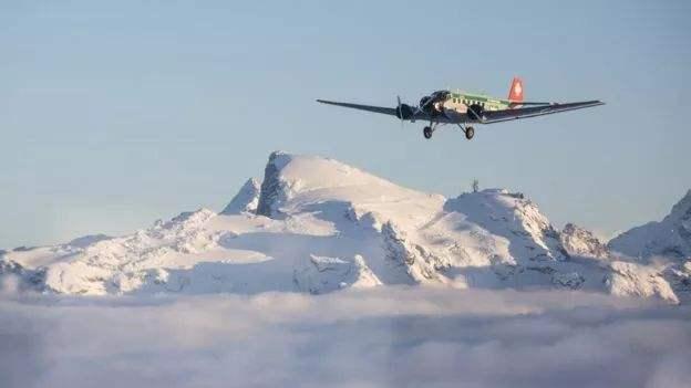 瑞士一架觀光飛機墜毀:機上20人全部死亡 墜機原因不明