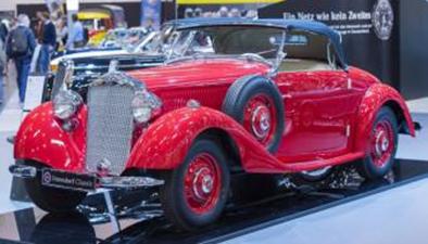古董車展印度開幕