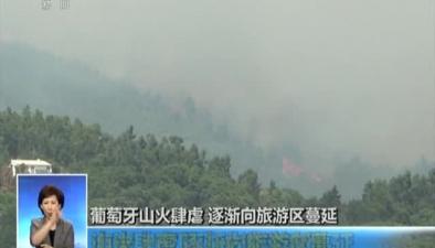 罕見高溫致山火多發葡萄牙:山火肆虐 逐漸向旅遊區蔓延