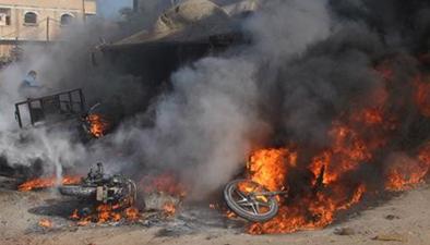 巴以地區:巴以緊張局勢升級以軍大規模轟炸哈馬斯目標